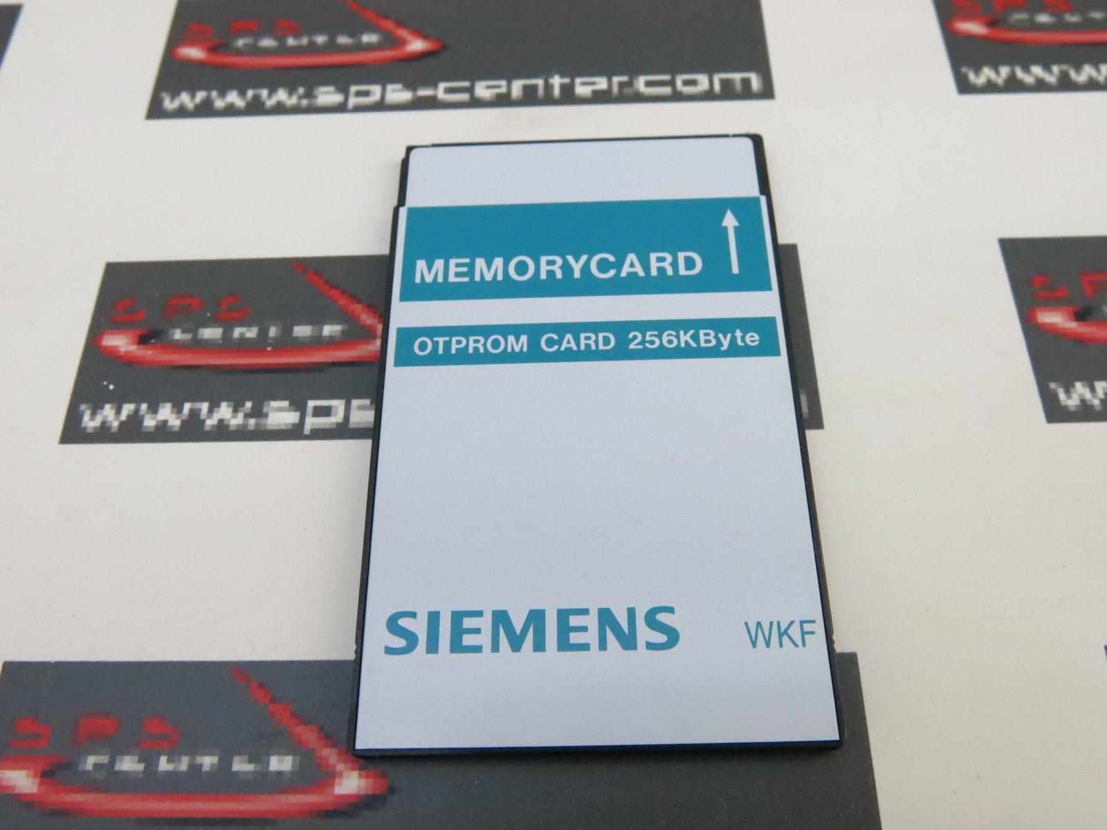 SIEMENS 6fm1470-7aa25 otprom CARD 256kbyte MEMORYCARD